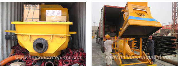 Batching plant equipments are being packed and will be delivered to Nigeria