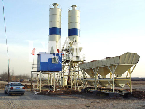 Trailer Concrete Batching Plant