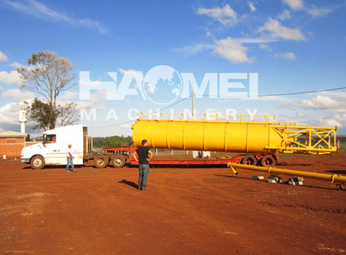 Mobile Concrete Batching Plant (25m3/h)