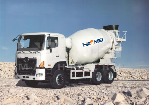 China Concrete Mixer Truck For Sale
