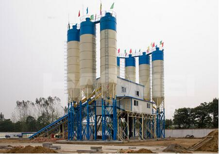 HZS120 Concrete Batching Plant Sale