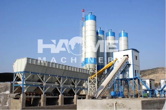HZS60 concrete mixing station