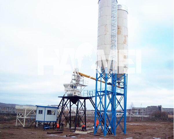 China HZS35 Concrete Mixing Plant